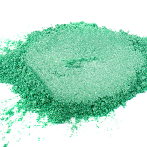 sea foam green mica