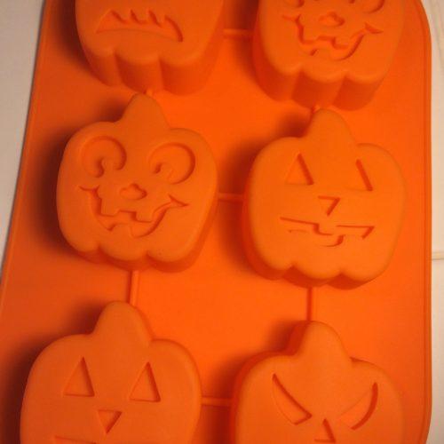 Halloween Pumpkins Silicone Mold