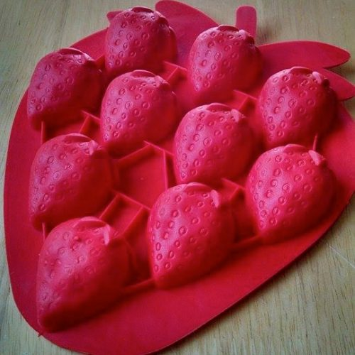 Strawberry Silicone Mold
