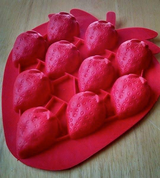 Strawberry Silicone Mold