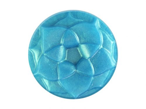 Turquoise teal mica