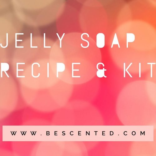 Jelly soap recipe kit