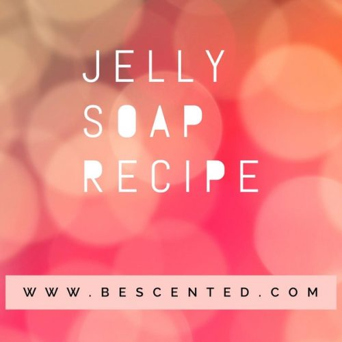 Jelly soap recipe photo