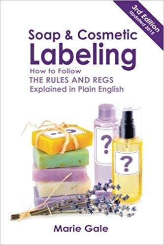 Soap and Cosmetic Labeling