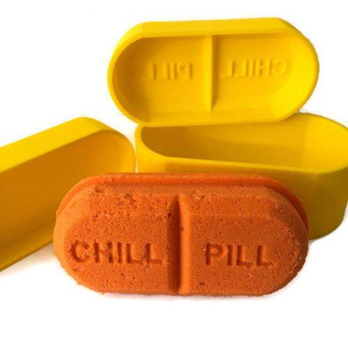 Chill Pill Capsule Bath Bomb Mold