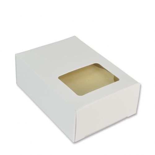 Soap Box White Rectangle
